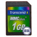 Память MMC Plus 01Gb Transcend dual voltage фото №1468