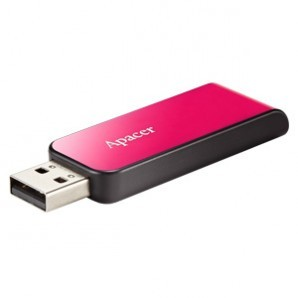 Память Flash USB 32 Gb Apacer AH334 Pink фото №1472