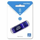 Память Flash USB 08 Gb Smart Buy Glossy series Dark Blue USB 3.0 фото №1621