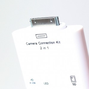 Переходник iPad Camera Connection Kit  2 in 1 <VUS7550(СА471)> фото №2813
