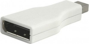 Переходник mini DisplayPort(m)  - DisplayPort(f) VCOM [CA805] фото №2881