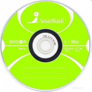 Диск DVD-R ST 4,7GB 16x Neon 6 color x SP-100/600/ фото №3158