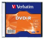 Диск DVD-R Verbatim 4,7Gb 8x Jewel Case Archival Grade (43638) фото №3159