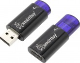 Память Flash USB 04 Gb Smart Buy Click Blue фото №3848