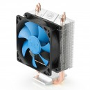 Вентилятор DEEPCOOL GAMMAXX200T S1150/S1155/S1156/S775/AM2/AM2+/AM3/FM1 (40шт/кор, TDP 95W, Fun 120mm, PWM, 2 тепл. трубки прямого контакта ) RET фото №3998