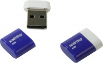 Память Flash USB 08 Gb Smart Buy LARA Blue фото №4140
