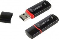 Память Flash USB 64 Gb Smart Buy Crown Black фото №4181