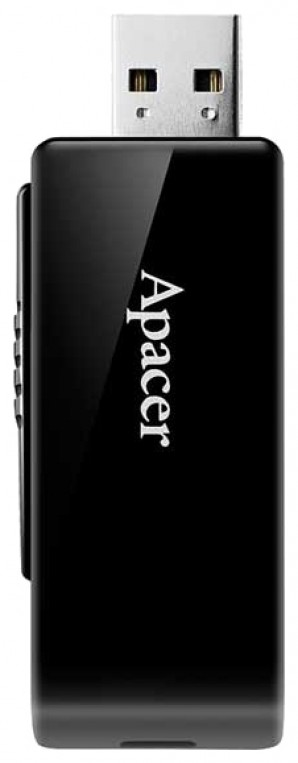 Память Flash USB 64 Gb Apacer AH350 Black USB 3.0 фото №6806