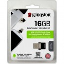 Память Flash USB 16 Gb Kingston OTG  (USB/microUSB) (DTDUO3/16GB) USB 3.0 фото №7326