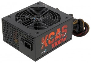 Блок питания Aerocool KCAS-1000M (ATX 2.4, 1000W, Active PFC, 140mm fan, Cable Management, 80 PLUS BRONZE) Box фото №12749