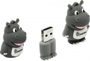 Память Flash USB 32 Gb Smart Buy Wild series Hippo (SB32GBHip) фото №14550