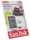 Память MicroSDHC 032Gb SanDisk Class10 UHS-I Ultra Android 80MB/s с ад. (SDSQUNS-032G-GN3MA) фото №14576