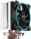 Вентилятор PCCooler GI-X4B S775/115X/AM2/AM3/AM4 (24 шт/кор, TDP 145W, 120mm PWM SilentPro Blue LED FAN, 4 тепловые трубки 6мм, 1000-1800RPM, 26.5dBa) фото №14622