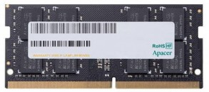 Память SO-DIMM DDR IV 04GB 2666MHz Apacer CL19, 1.2V, AS04GGB26CQTBGH, 1R, 512x8, RTL фото №15417