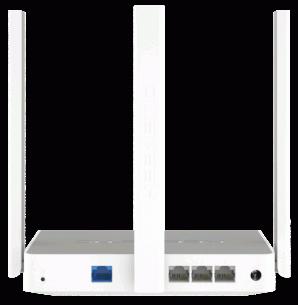 Беспроводной маршрутизатор KEENETIC  City (KN-1511) (3UTP 100Mbps, 1WAN, 802.11a/b/g/n/ac, 433Mbps, 3x5dBi) | КЭШ в Кирове