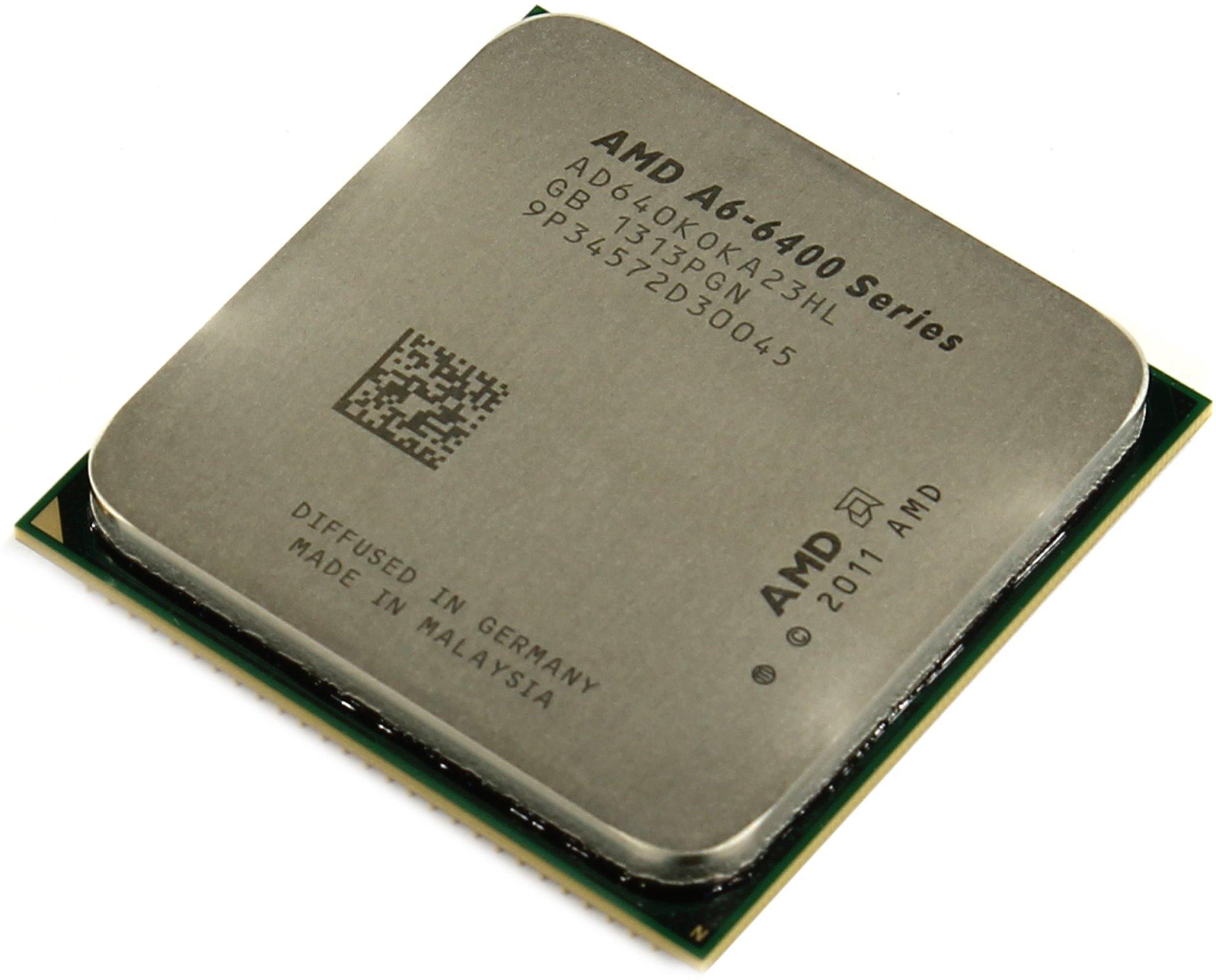 Процессор AMD A6 7470K BOX Socket FM2 (AD747KYBJCBOX)